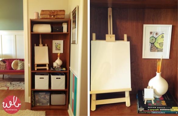 bookshelf building kit